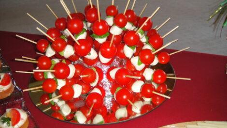 Tomaten-Mozzarellakugel