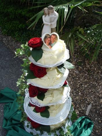 Hochzeitstorte, 5-teilig (mit Foto)