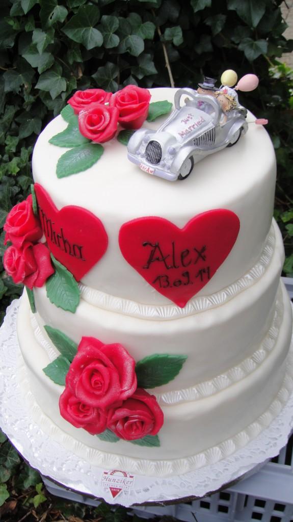 Auto-Torte, englisch