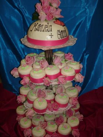 Cupcake, 4-stöckig