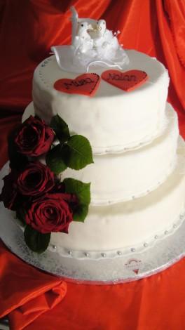 Englische Hochzeitstorte