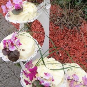 Orchidee, 5-stöckig (gestuft)