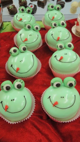 Fröschli Cupcakes