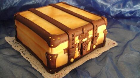 Koffer-Torte