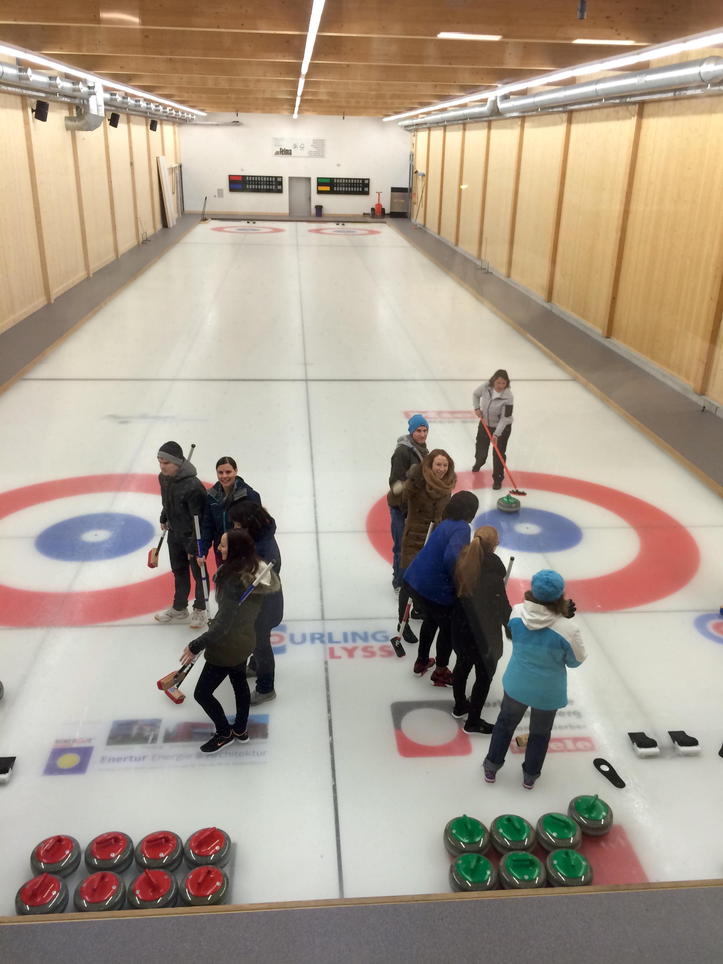 Curling-Plausch