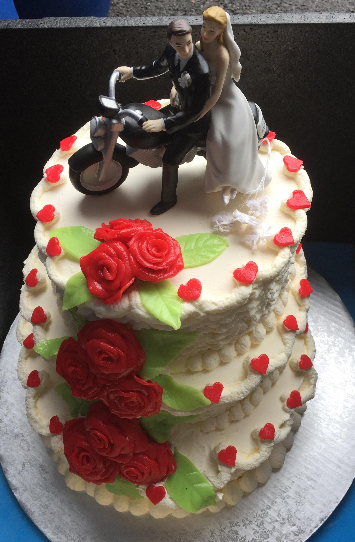 Hochzeitstorte Motorrad Archer Beck