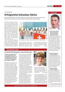 Olympiade Erfurt - Artikel panissimo