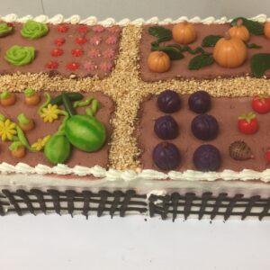 Gemüsegarten-Torte
