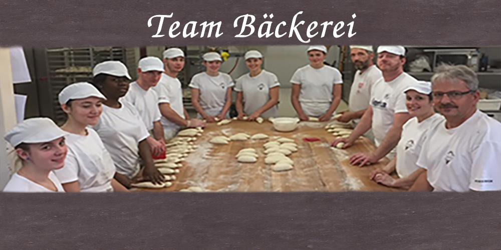 Team Bäckerei